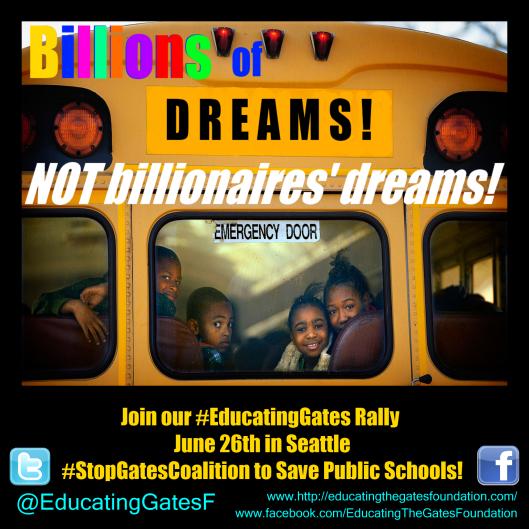 Billions of Dreams bus complete